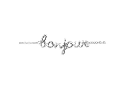 All the Luck in the World Urban Silverplated Armband Bonjour