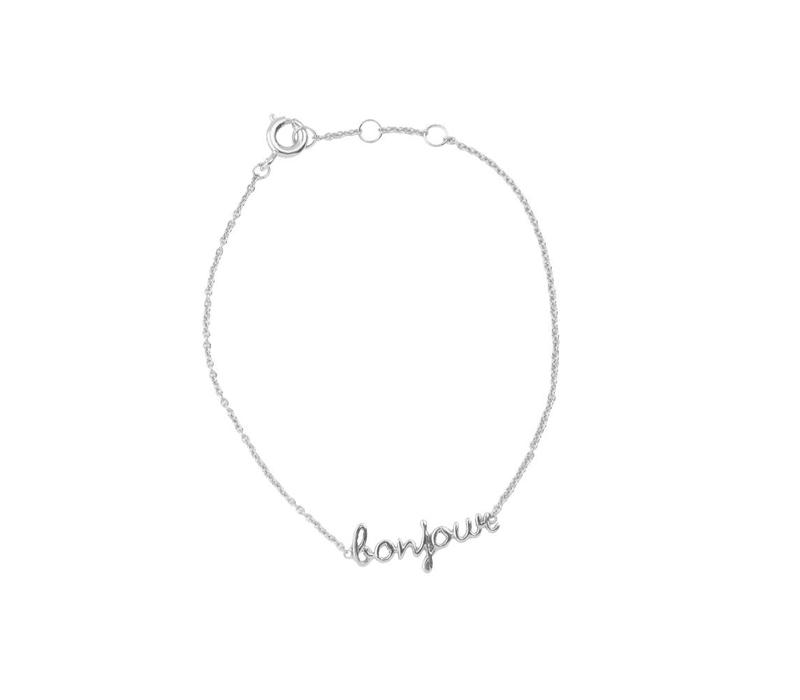 Urban Silverplated Armband Bonjour