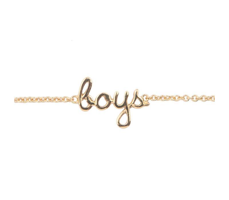 Armband Boys goud
