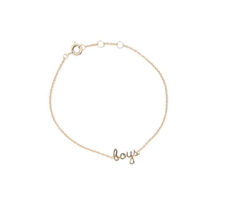 Bracelet Boys gold
