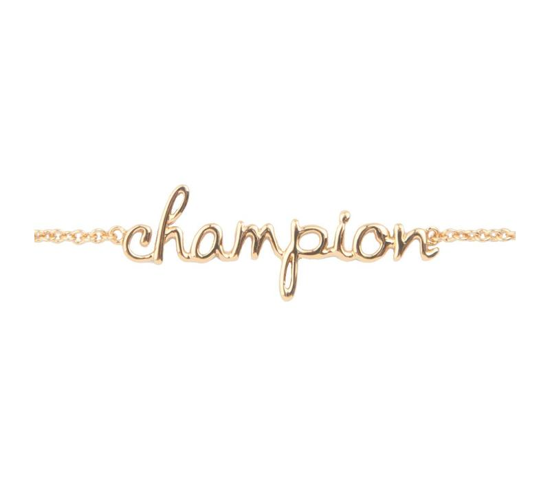 Urban Goldplated Armband Champion