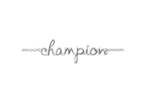 All the Luck in the World Urban Silverplated Armband Champion