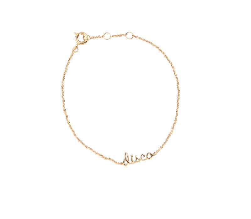 Bracelet Disco gold