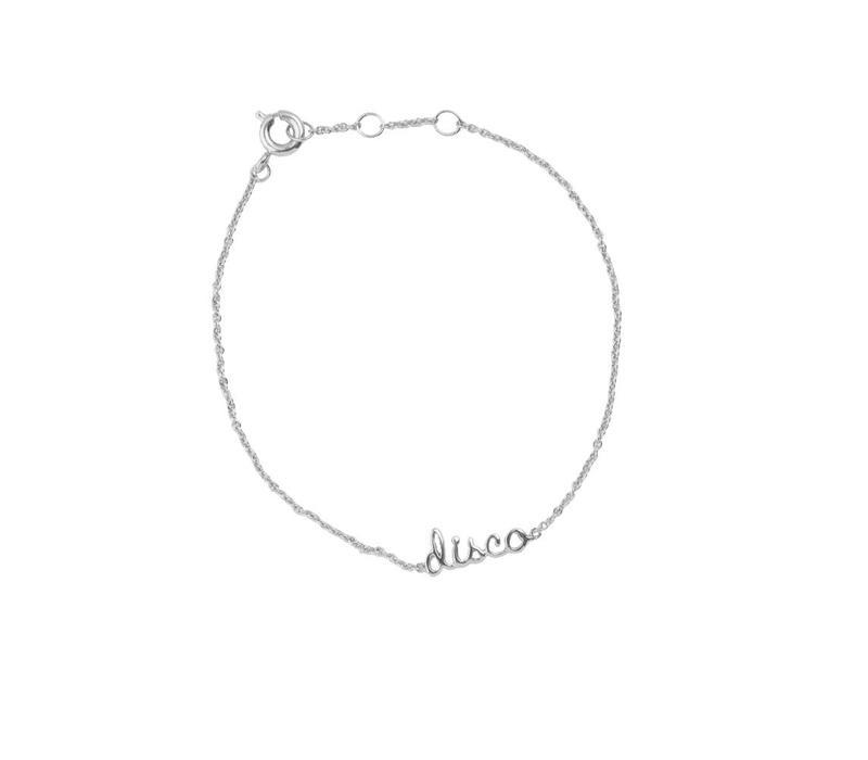 Bracelet Disco silver