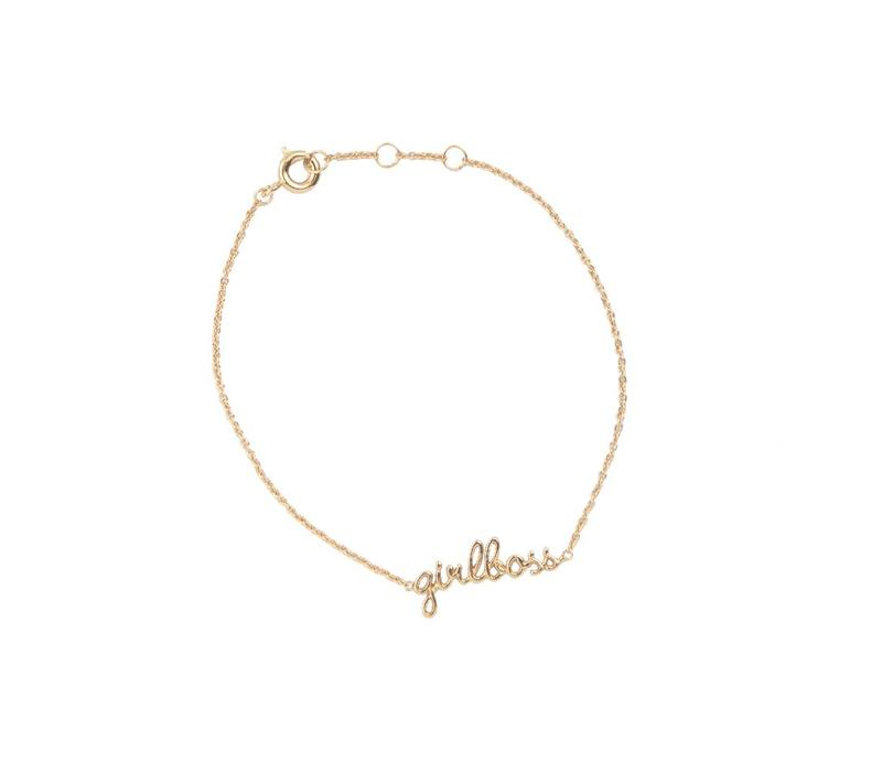 Armband Girlboss 18K goud