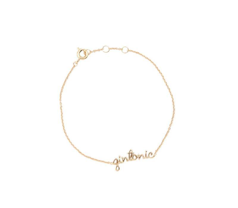 Armband Gintonic 18K goud