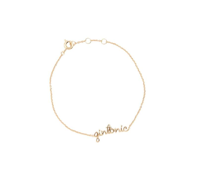 Bracelet Gintonic gold