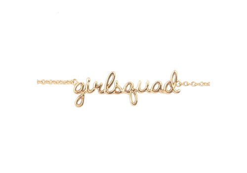 All the Luck in the World Urban Goldplated Bracelet Girlsquad