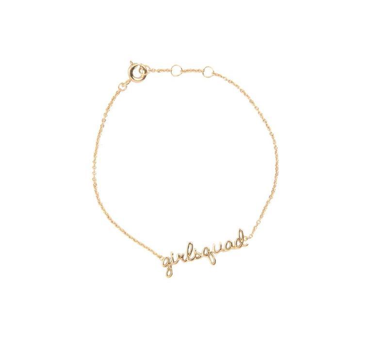 Bracelet Girlsquad gold