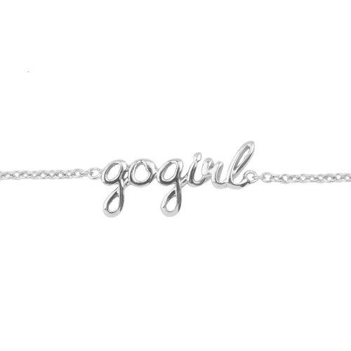 Urban Silverplated Armband Gogirl