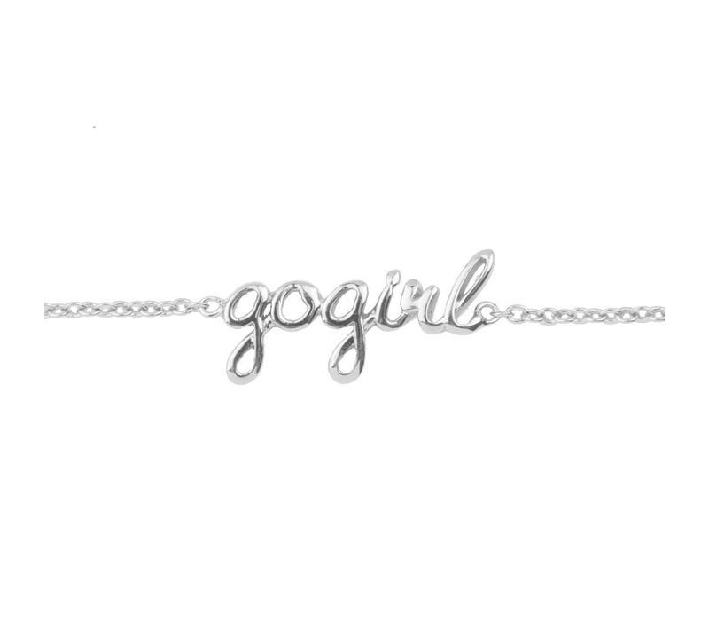 Bracelet Gogirl plated