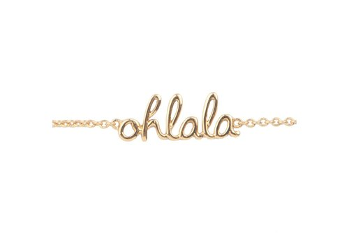 All the Luck in the World Urban Goldplated Bracelet Ohlala