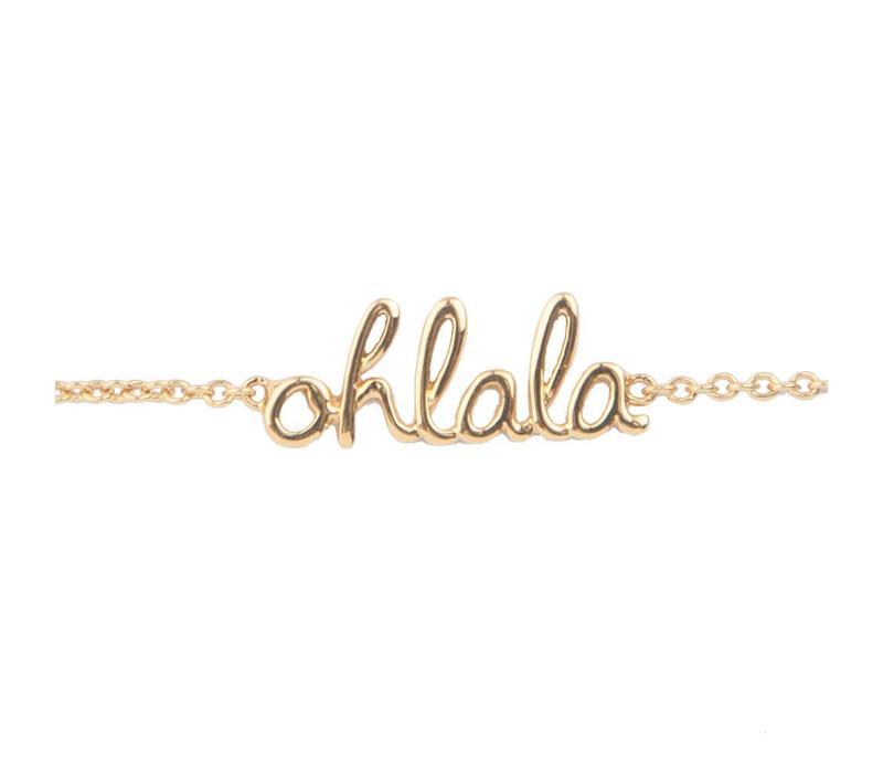 Bracelet Ohlala gold