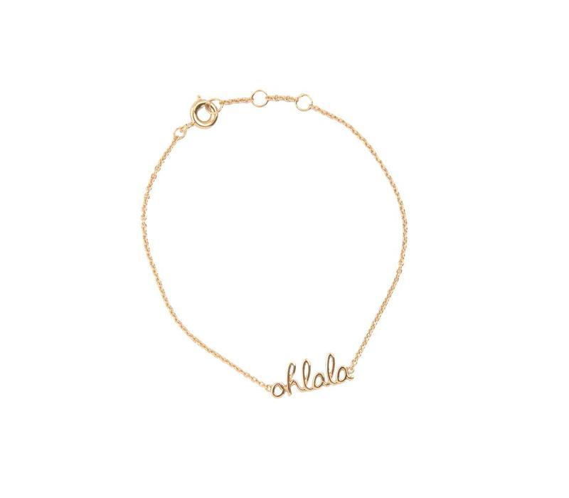 Armband Ohlala goud