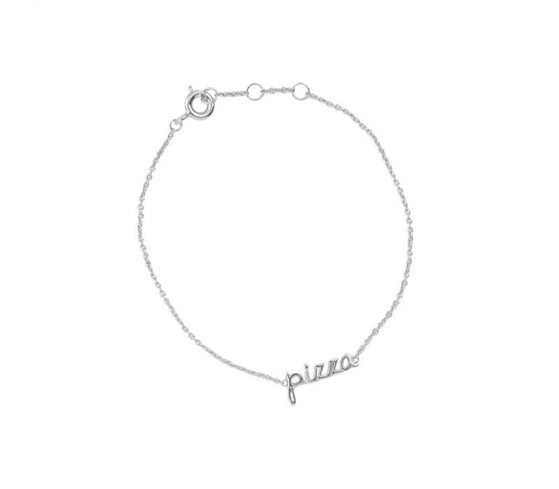 Bracelet Pizza silver