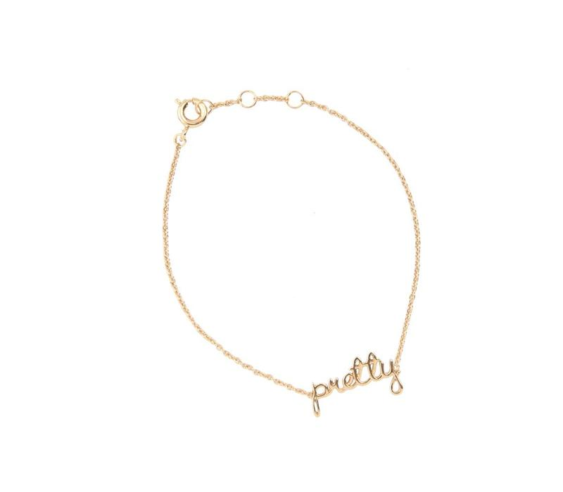 Armband Pretty goud