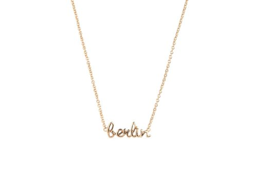 All the Luck in the World Ketting Berlin 18K goud