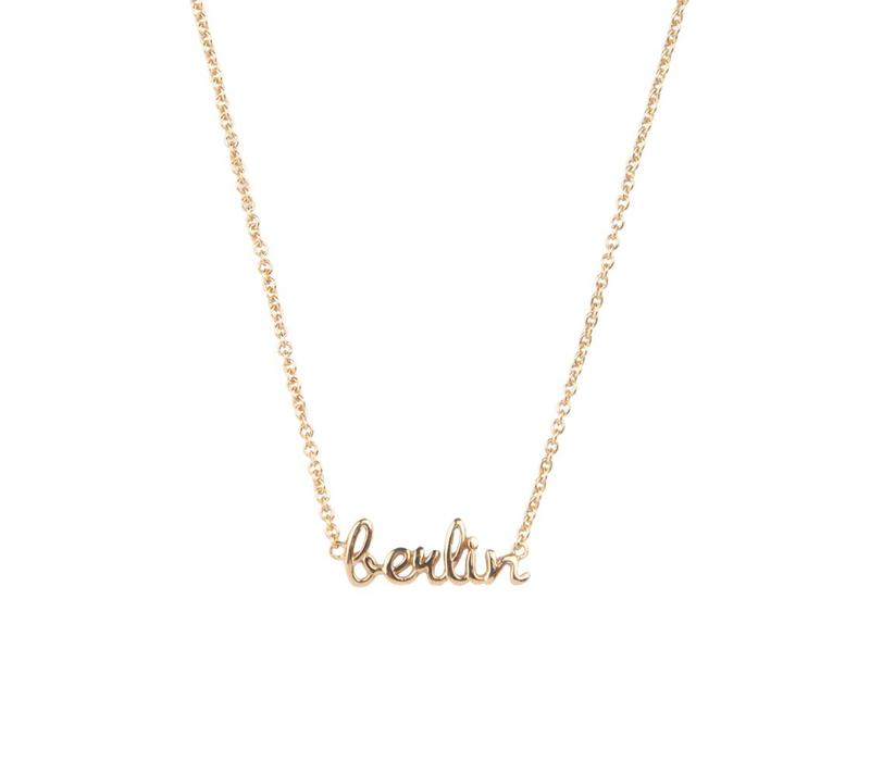 Urban Goldplated Necklace Berlin