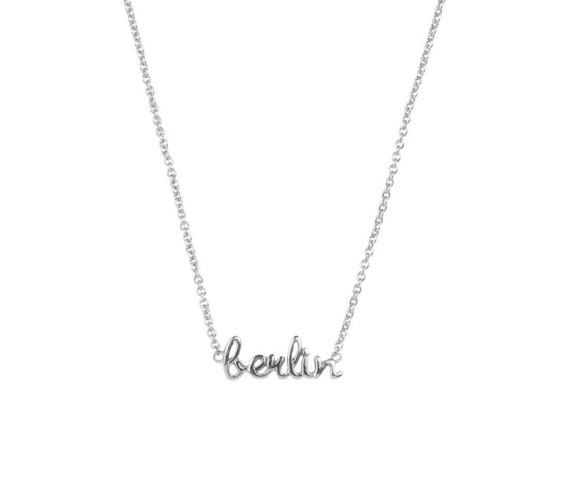Necklace Berlin silver