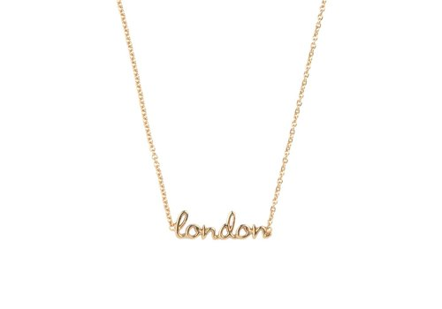 All the Luck in the World Urban Goldplated Necklace London