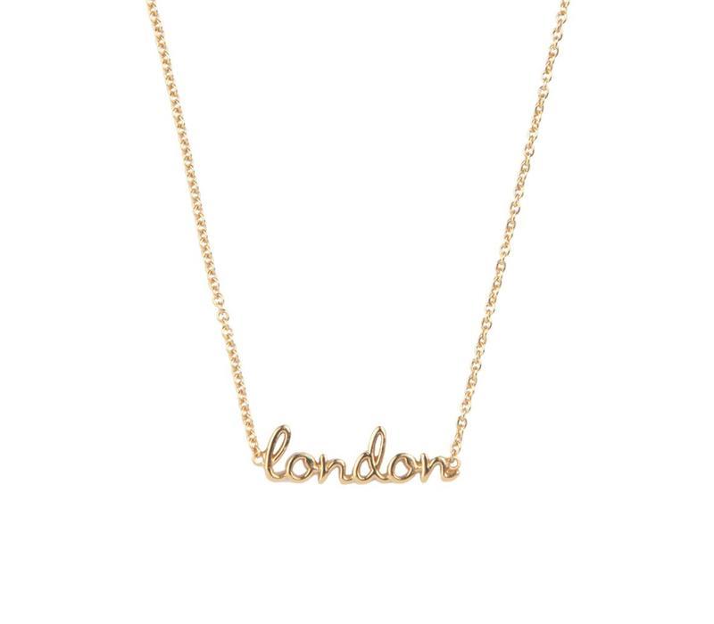 Ketting London goud
