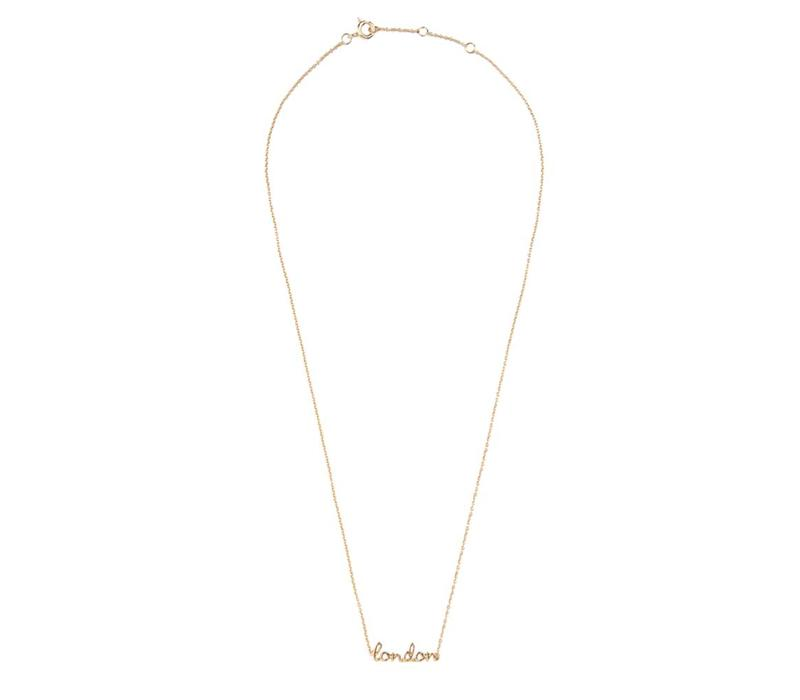 Necklace London gold