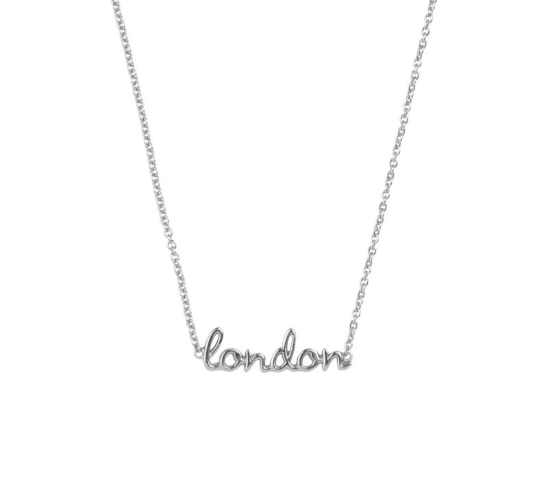 Necklace London silver