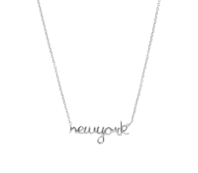 Ketting New York zilver