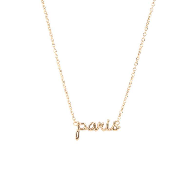 Ketting Paris goud