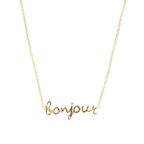 Urban Goldplated Necklace Bonjour