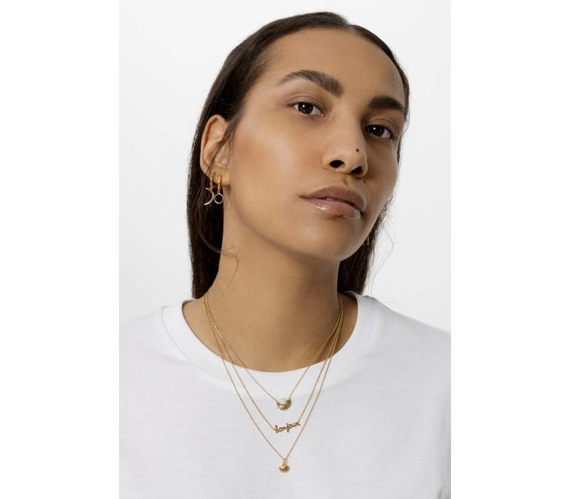 Urban Goldplated Necklace Bonjour