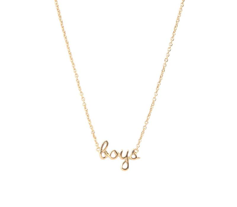 Urban Goldplated Necklace Boys