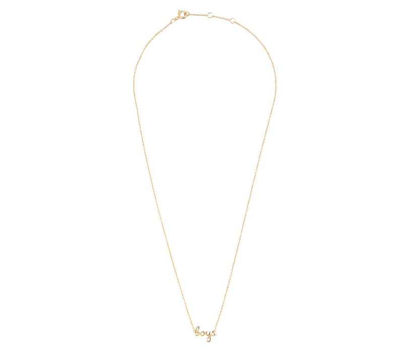 Necklace Boys plated