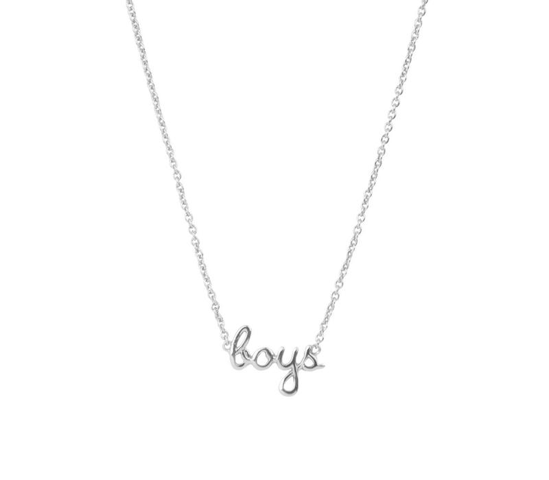 Necklace Boys silver