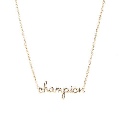 Ketting Champion 18K goud