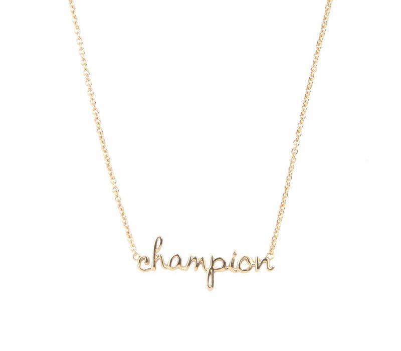 Ketting Champion goud
