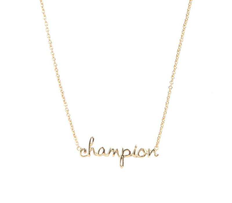 Necklace Champion gold