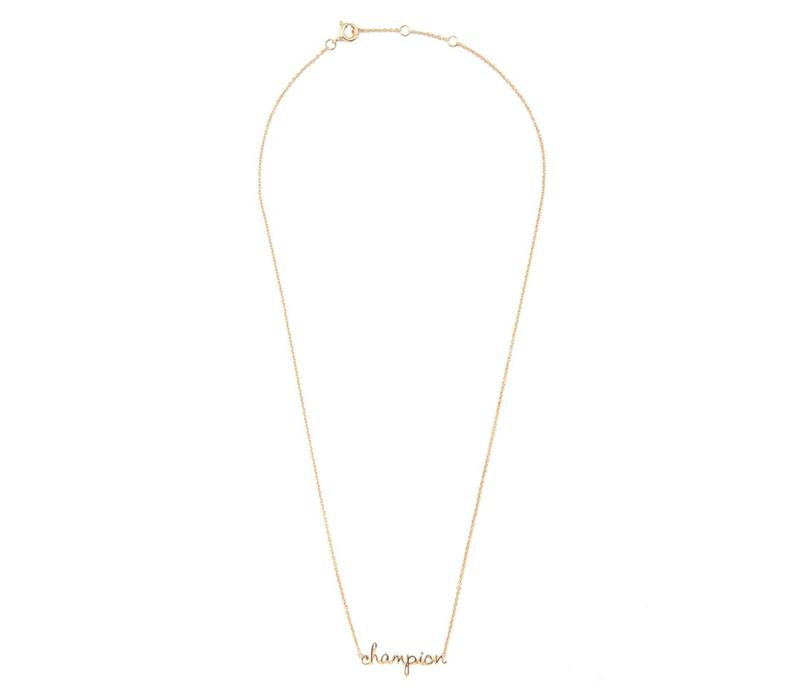 Necklace Champion plated
