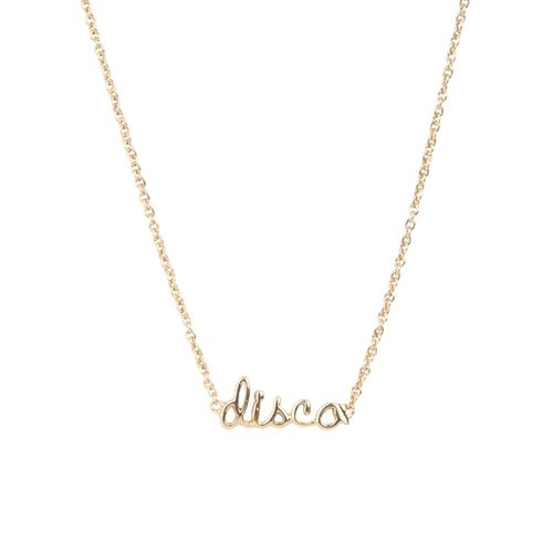 Urban Goldplated Necklace Disco