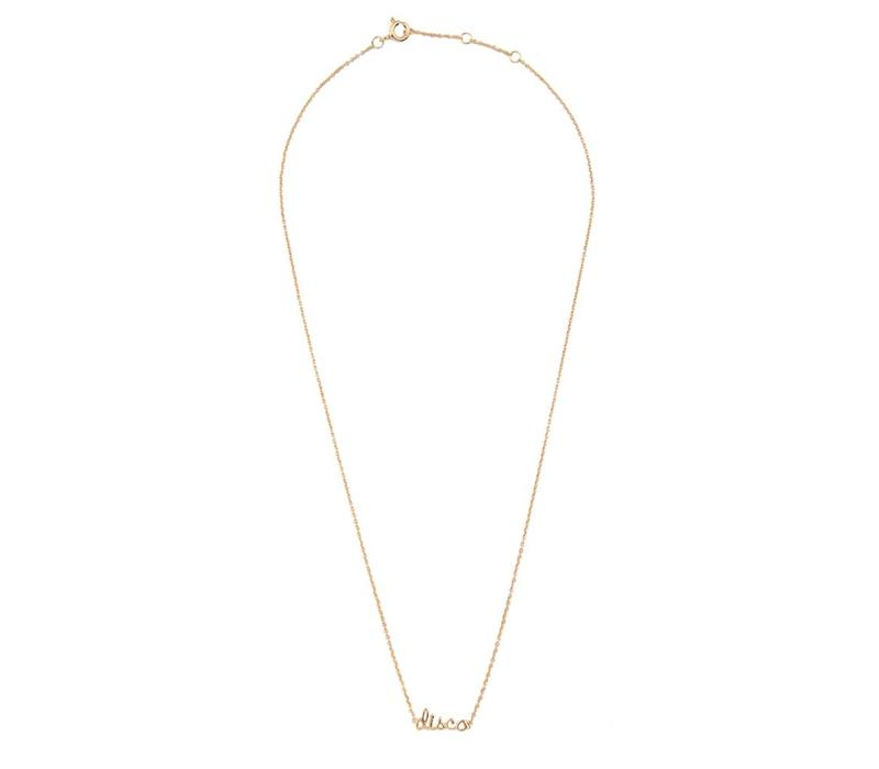 Necklace Disco plated