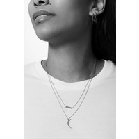 Urban Silverplated Necklace Disco