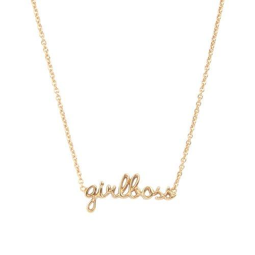 Ketting Girlboss goud