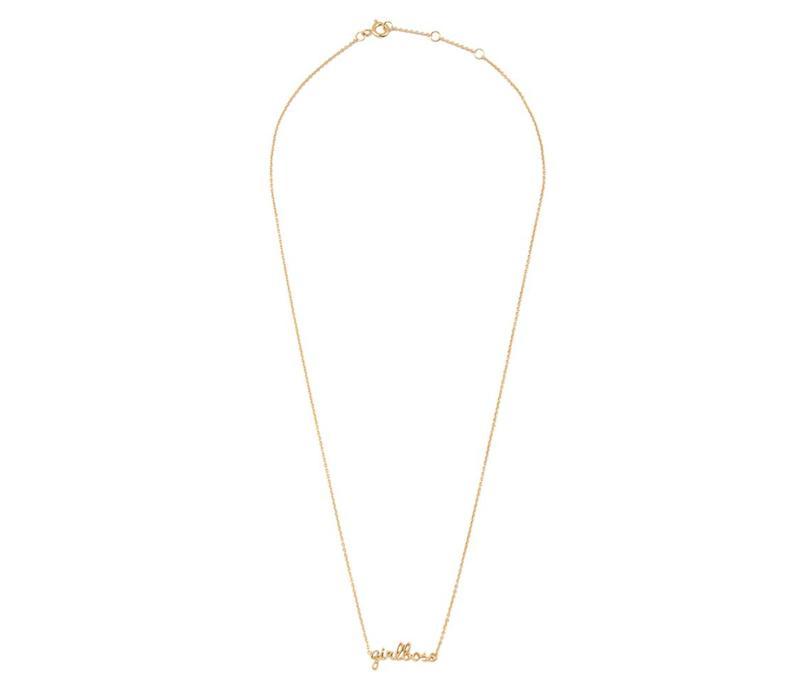 Necklace Girlboss gold
