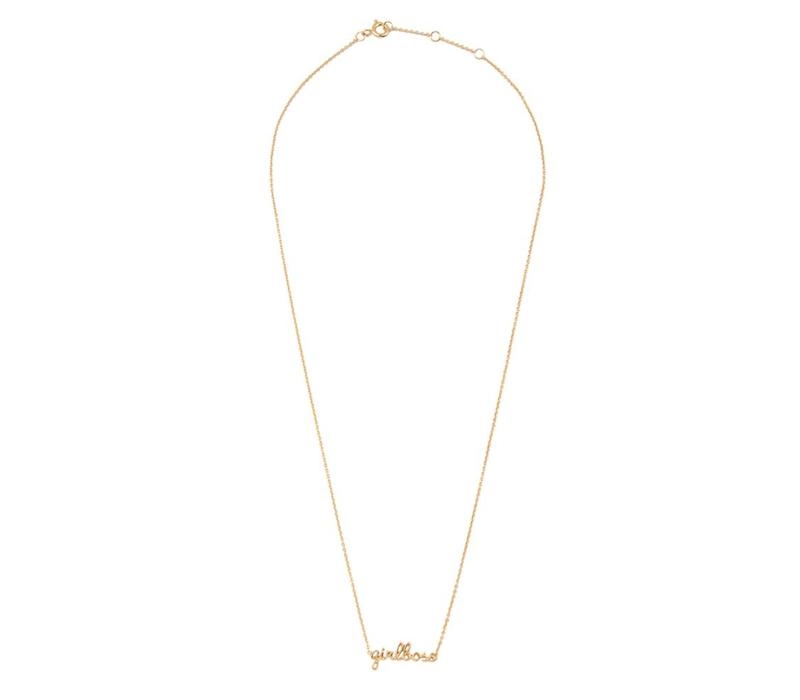 Urban Goldplated Ketting Girlboss