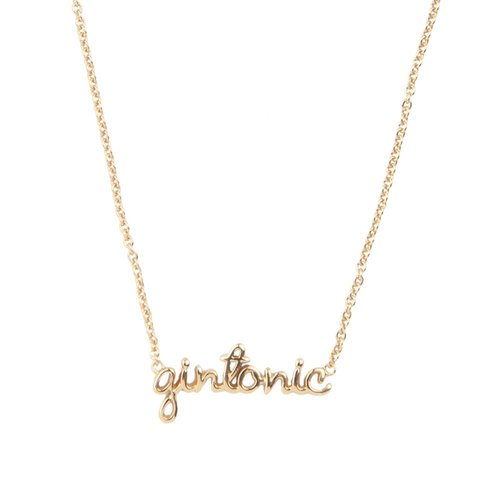 Urban Goldplated Necklace Gintonic
