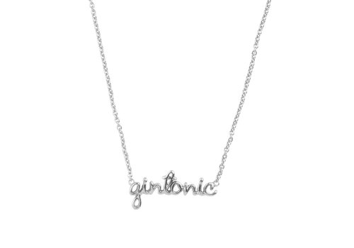 All the Luck in the World Necklace Gintonic silver