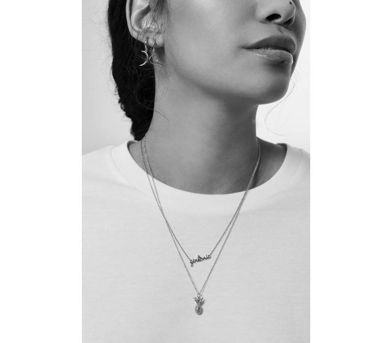 Urban Silverplated Necklace Gintonic
