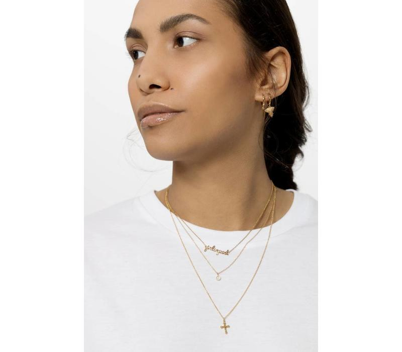 Necklace Girlsquad plated