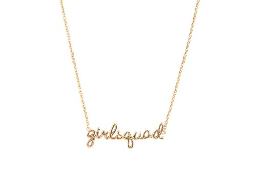All the Luck in the World Necklace Girlsquad gold