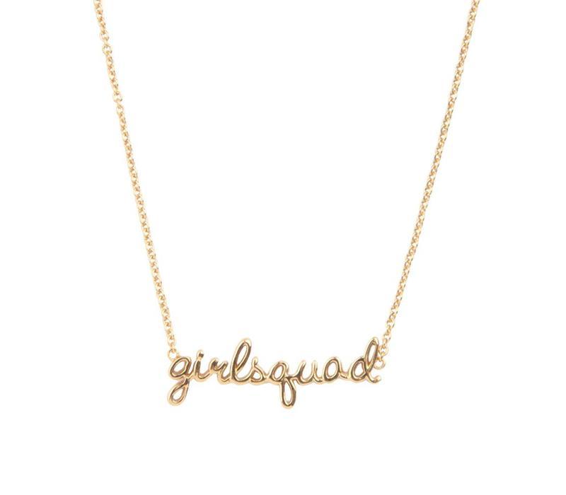 Ketting Girlsquad 18K goud